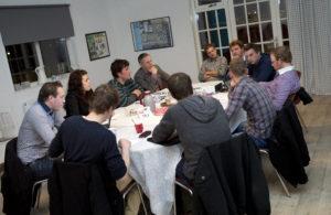 10-03-2014 Ten Boer Achmea Bijeenkomst AJK Agrarische jongeren en Interpolis Foto: Hoge Noorden/Jaap Schaaf